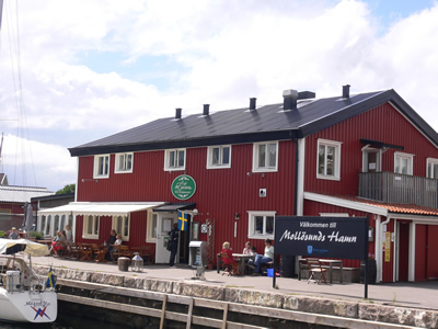 Cafe Emma in Mollosund harbour