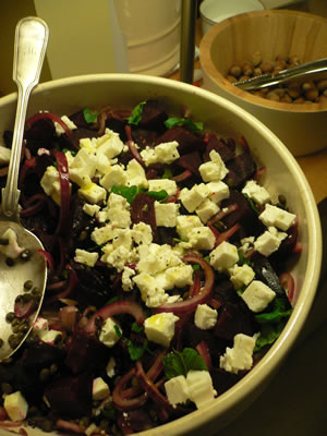 Beetroot and Onion Salad