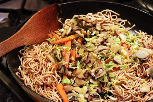 winter veg stir fry