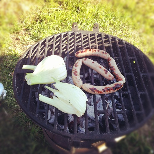 Allotment barbecue